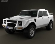 3D model of Lamborghini LM002 1986-1993