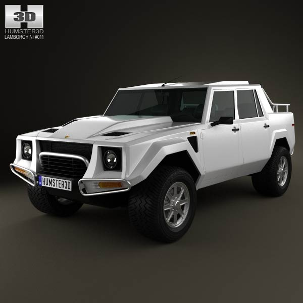 Lamborghini LM002 1986-1993 3d car model