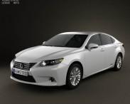 3D model of Lexus ES hybrid (XV50) 2013