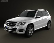 3D model of Mercedes-Benz GLK-Class X204 2013