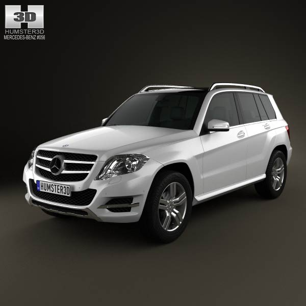 Mercedes-Benz GLK-Class X204 2013 3d car model