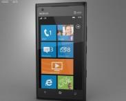 3D model of Nokia Lumia 900