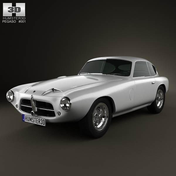 Pegaso Z-102 1954 3d car model