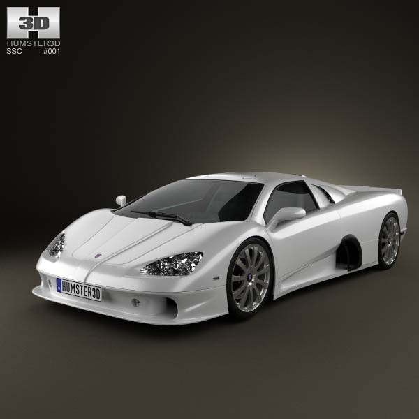 SSC Ultimate Aero 2009 3d car model