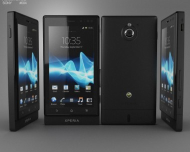3D model of Sony Xperia Sola