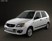 3D model of Suzuki (Maruti) Alto K10 2012