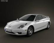 Toyota Celica GT-S 2006 3d car model
