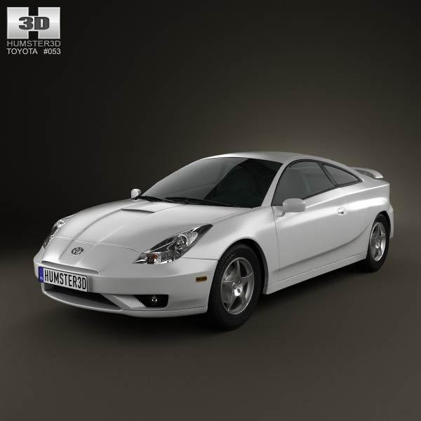 3D model of Toyota Celica GT-S 2006