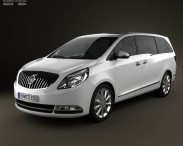 3D model of Buick GL8 2011