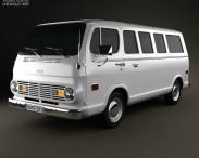 3D model of Chevrolet Sport Van 1968