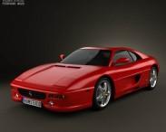 3D model of Ferrari F355 F1 Berlinetta 1999