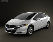 3D model of Honda FCX Clarity 2010