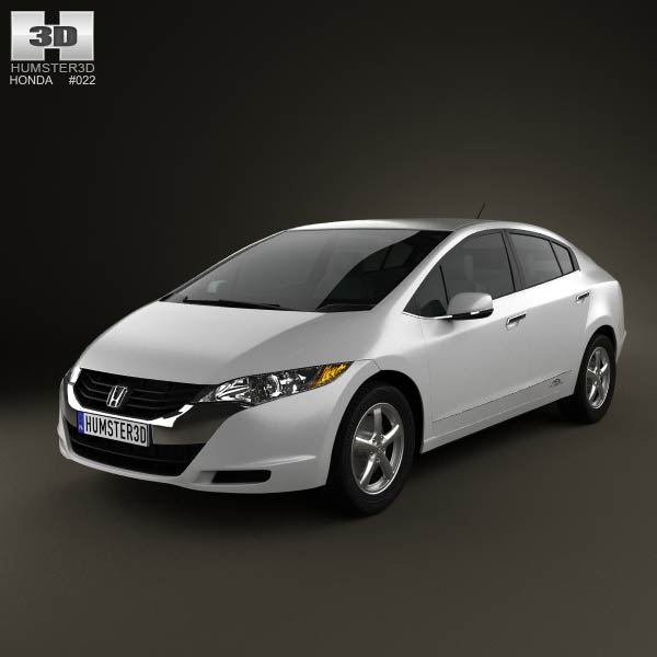Honda FCX Clarity 2010 3d car model