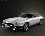 3D model of Jaguar XJ-S coupe 1975