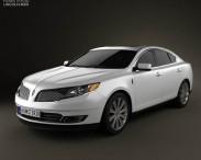 3D model of Lincoln MKS 2013