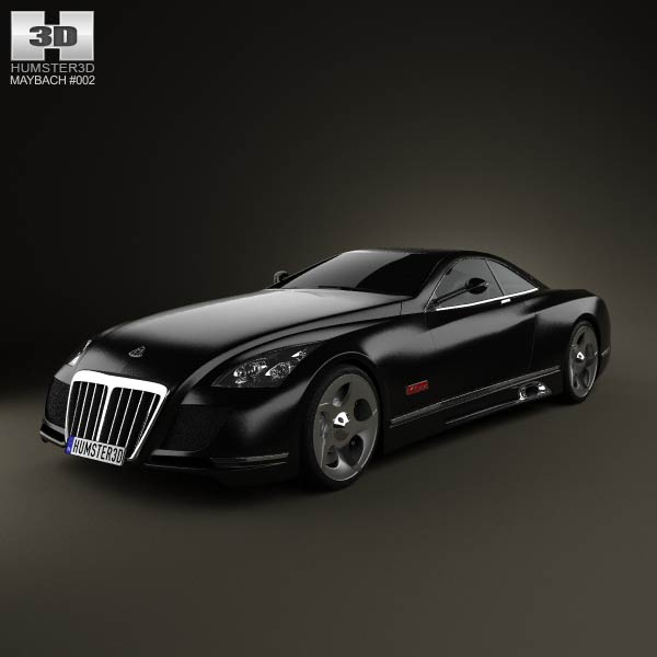 Maybach Exelero 2005 3d car model