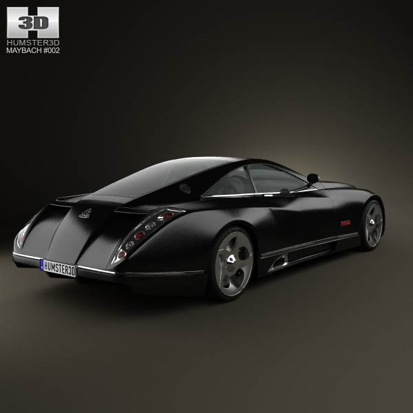 Maybach Exelero 2005 3d model
