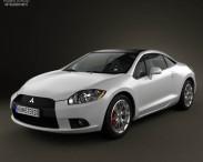 3D model of Mitsubishi Eclipse 2012