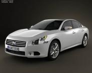 3D model of Nissan Maxima 2012