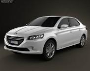 3D model of Peugeot 301 2013
