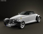 3D model of Plymouth Prowler 1999