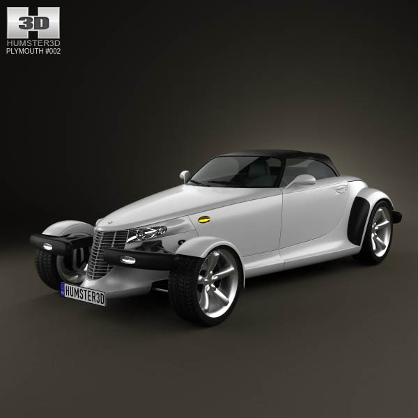 Plymouth Prowler 1999 3d car model