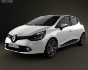 3D model of Renault Clio IV 2013