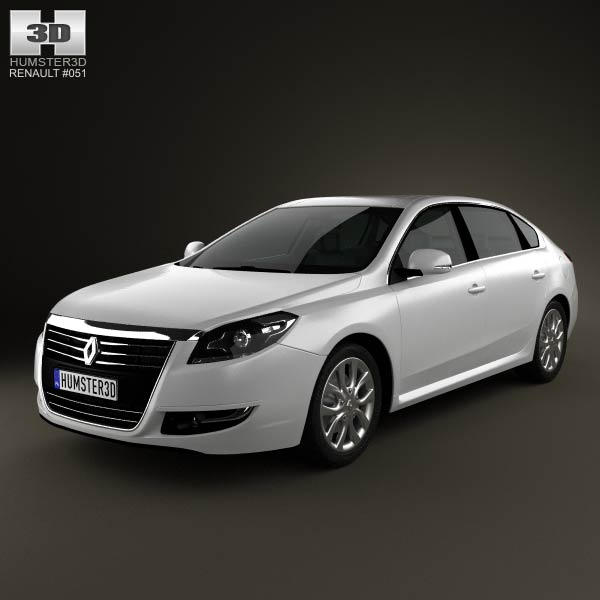 Renault Talisman 2013 3d car model