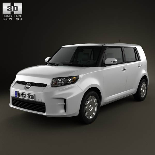 Scion xB 2012 3d car model