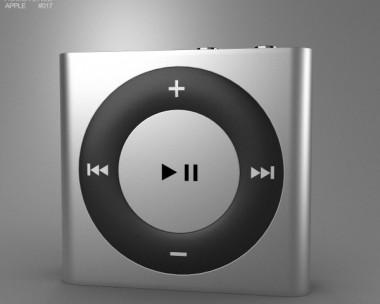 3D model of Apple iPod shuffle