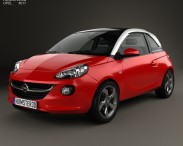 3D model of Opel Adam 2013