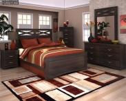 3D model of Ashley X-cess Panel Bedroom Set