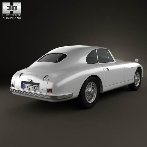 Aston Martin DB2 1950 3d model