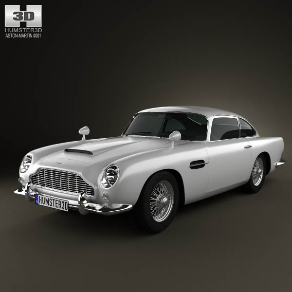 Aston Martin DB5 1963 3d car model