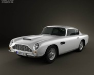 3D model of Aston Martin DB6 1965
