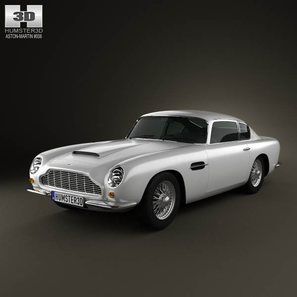 Aston Martin DB6 1965 3d car model