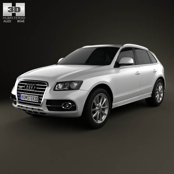 3D model of Audi SQ5 2013
