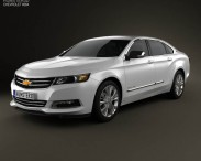 3D model of Chevrolet Impala 2014
