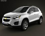 3D model of Chevrolet Trax 2013