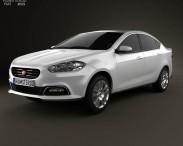 3D model of Fiat Viaggio 2013