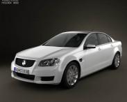 3D model of Holden Commodore VE Sedan 2012