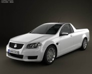 3D model of Holden VE Commodore UTE 2012