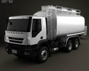 3D model of Iveco Trakker Fuel Tank Truck 2012