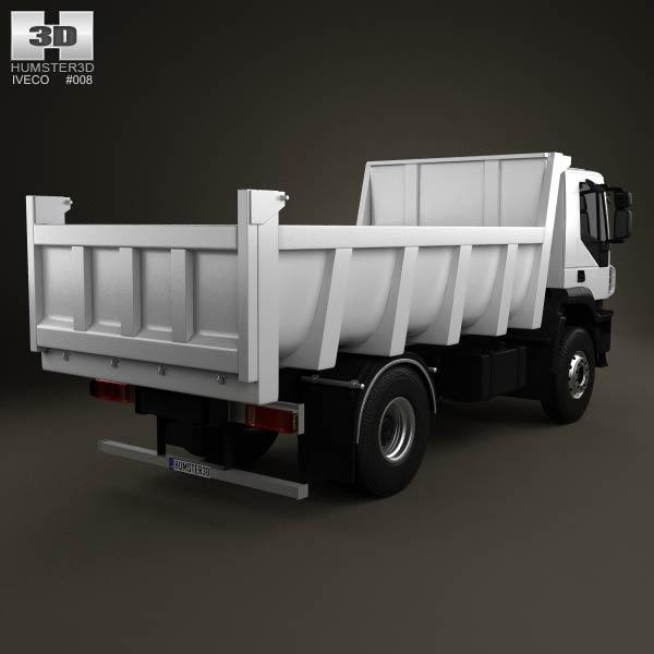 Iveco Trakker Dump Truck 2012 3d model