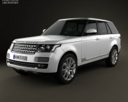 3D model of Range Rover (L405) 2014