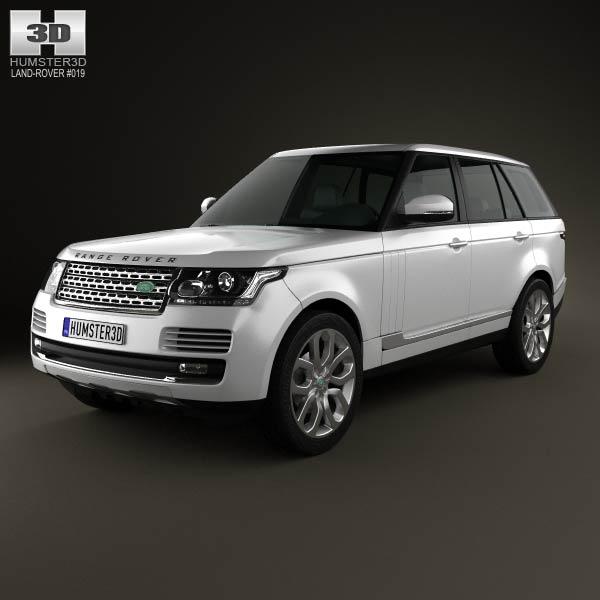 3D model of Range Rover (L405) 2014