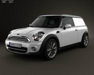 3D model of Mini Clubvan 2013