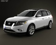 3D model of Nissan Pathfinder 2013