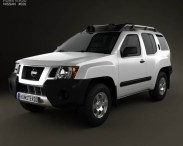 3D model of Nissan Xterra 2012