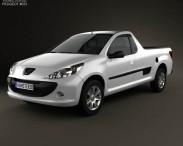 3D model of Peugeot Hoggar 2012